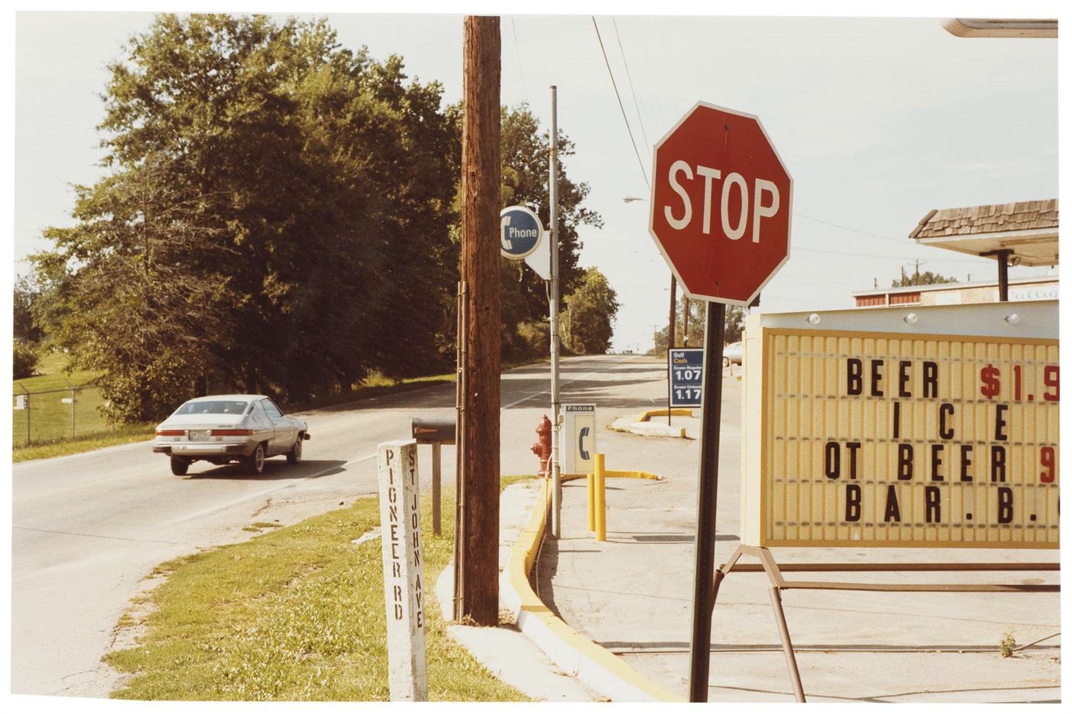 William Eggleston-Untitled (Stop Sign), 1980s-