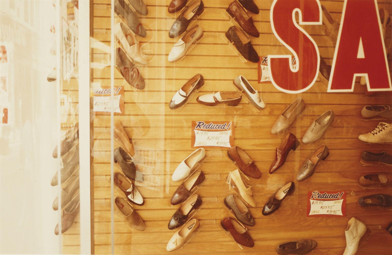 William Eggleston-Untitled (Shoe Sale), 1980s-