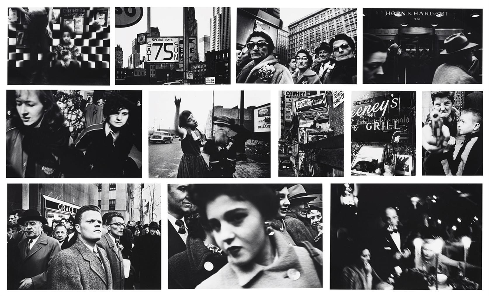William Klein-William Klein: New York 54/55-1955