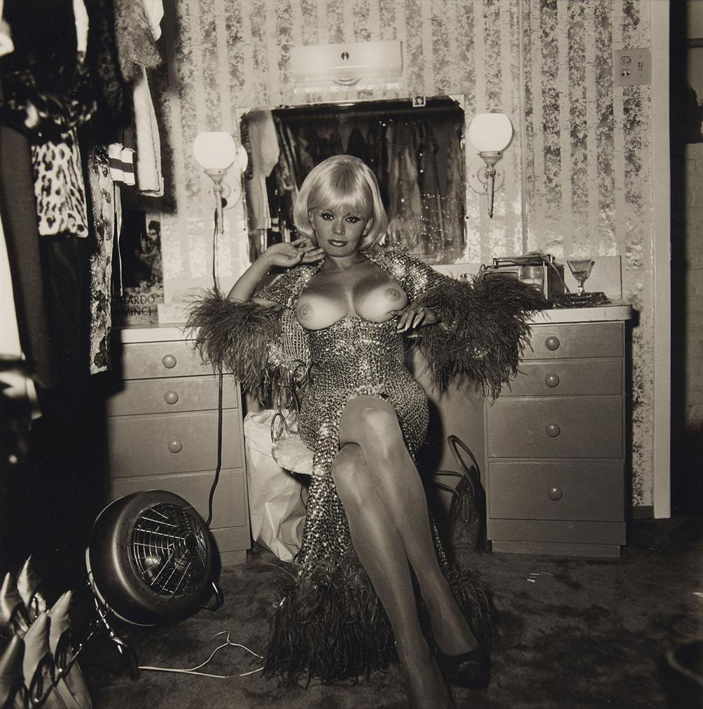 Diane Arbus-Topless Dancer In Her Dressing Room, San Francisco, Cal.-1968