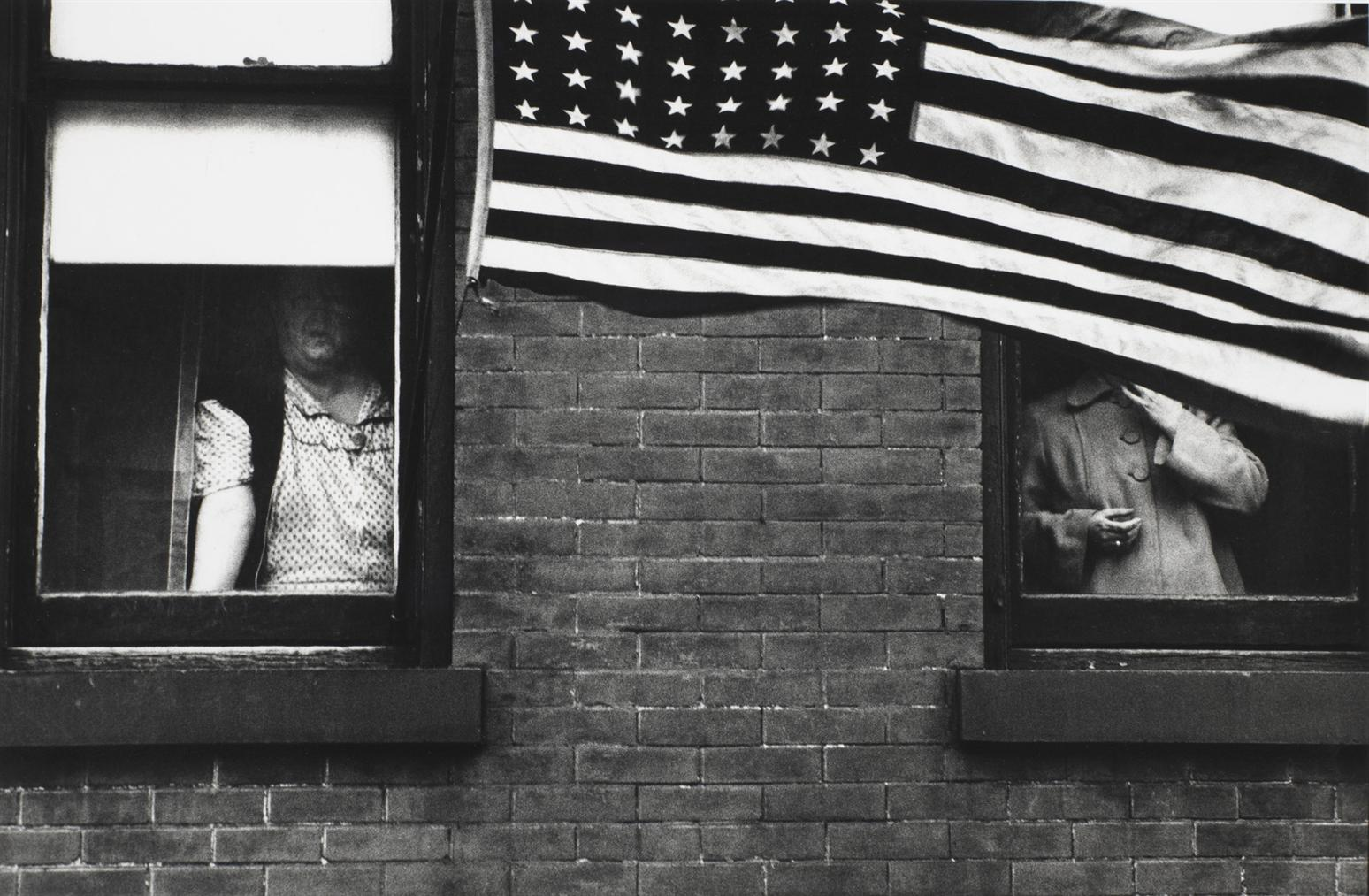 Robert Frank-Parade - Hoboken, New Jersey-1955