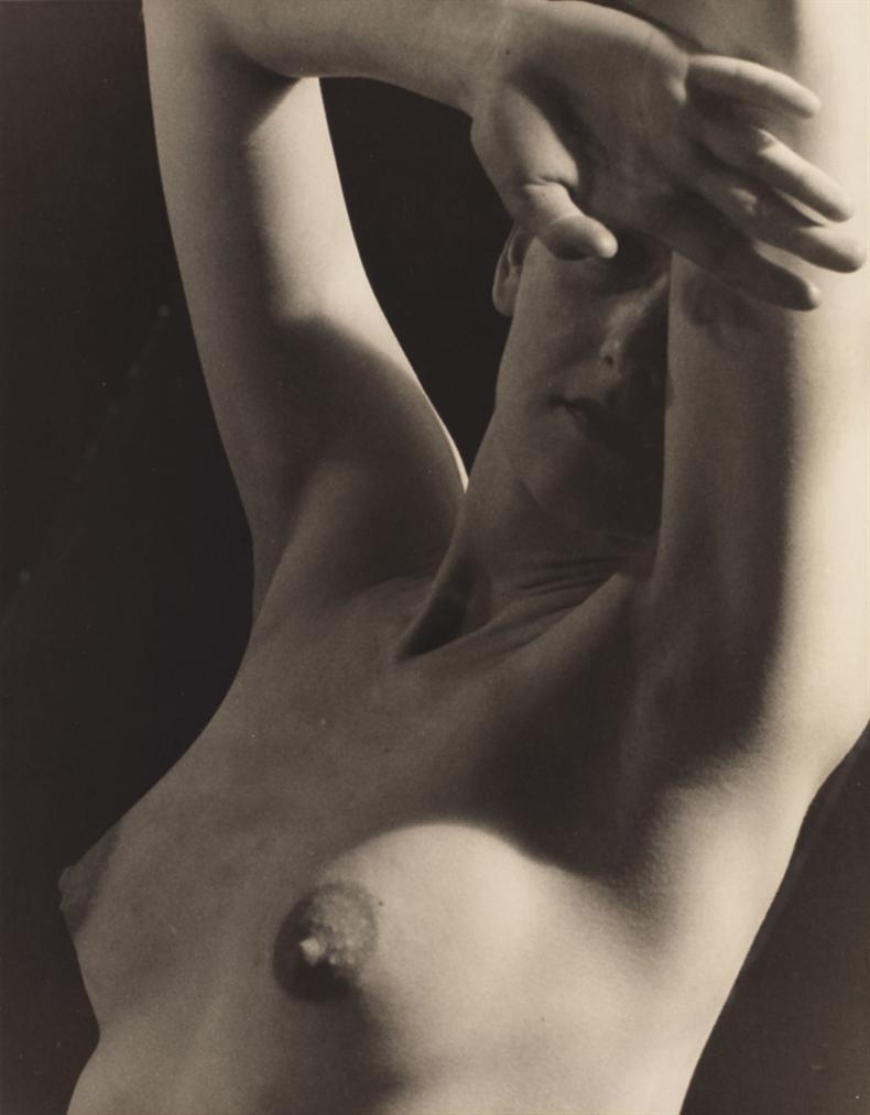 Man Ray-Untitled (Nude)-1935