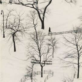 Andre Kertesz-Washington Square-1954