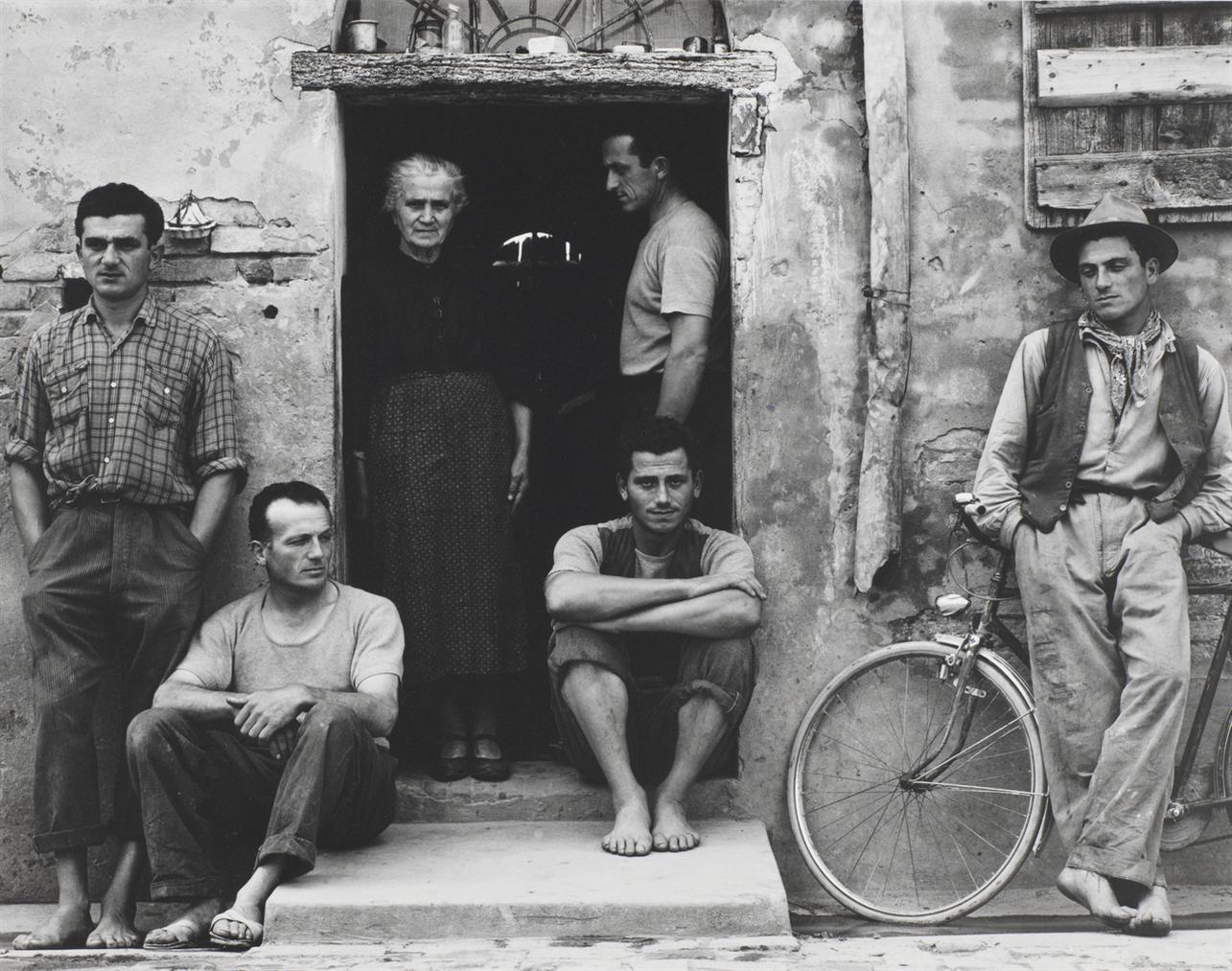 Paul Strand-The Family, Luzzara, Italy-1953