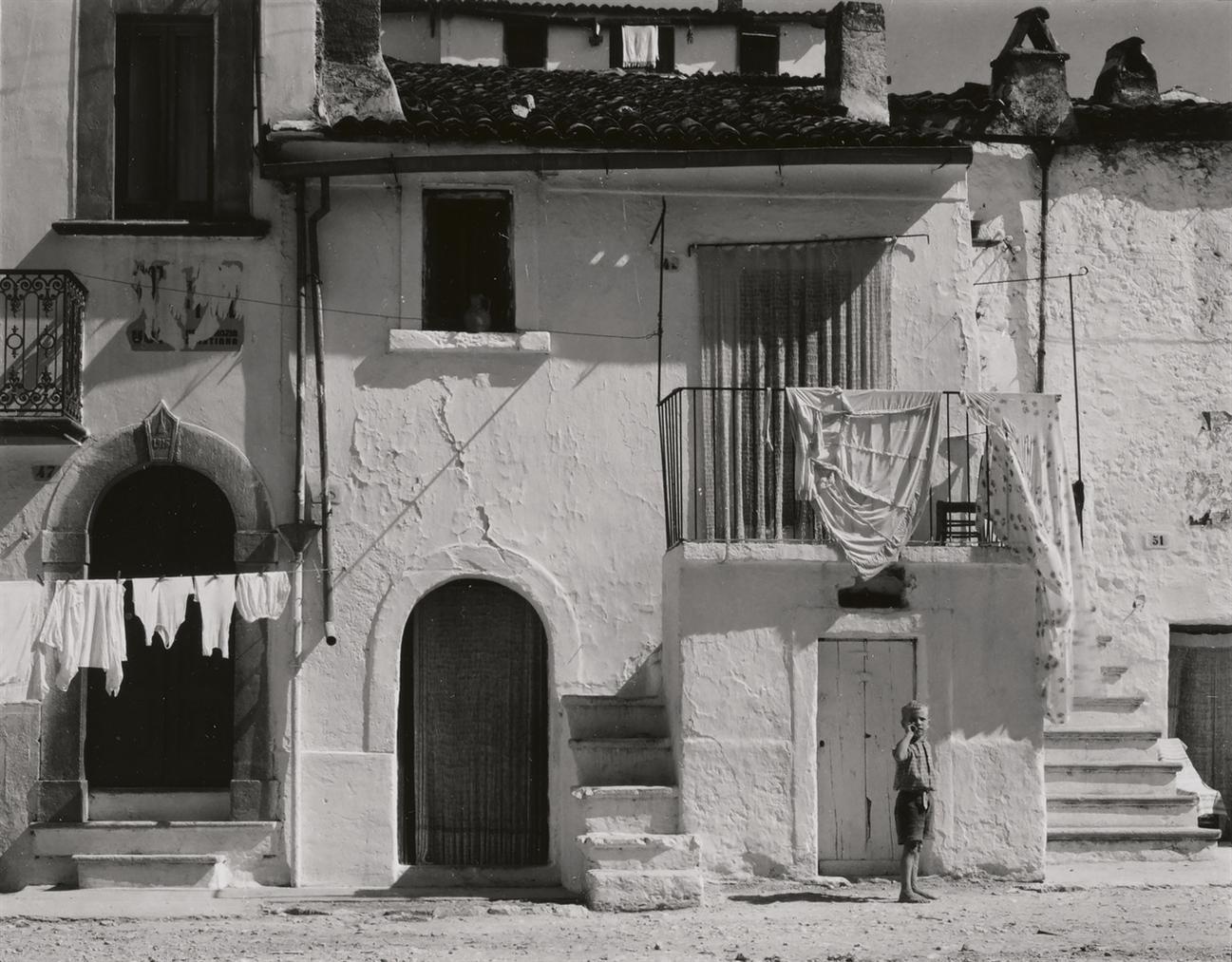 Paul Strand-Town In The Gargano II, Italy-1952