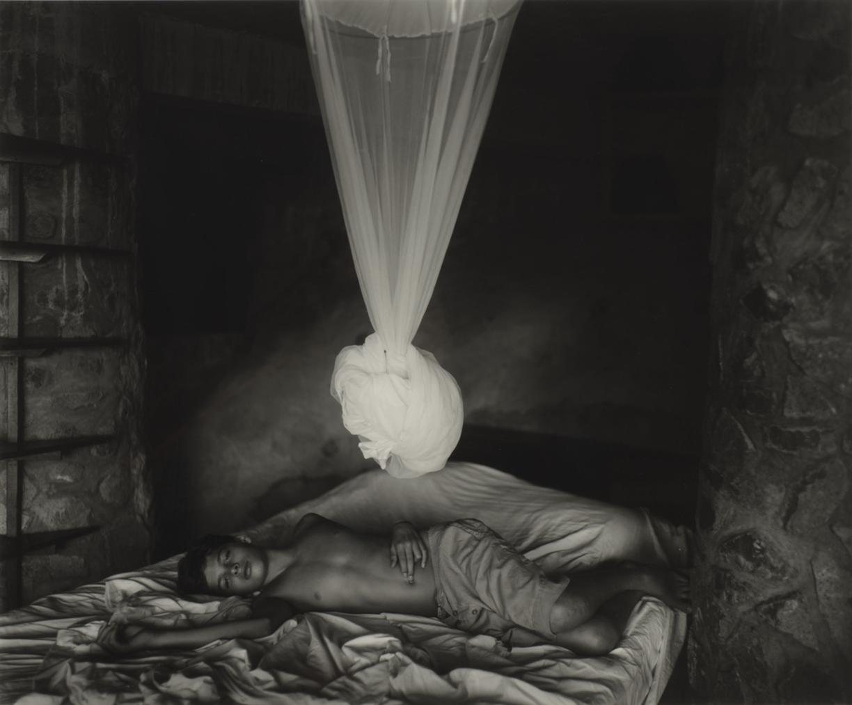 Sally Mann-Sheet Changing Day-1994