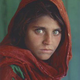 Steve McCurry-Afghan Girl, Peshawar, Pakistan-1984
