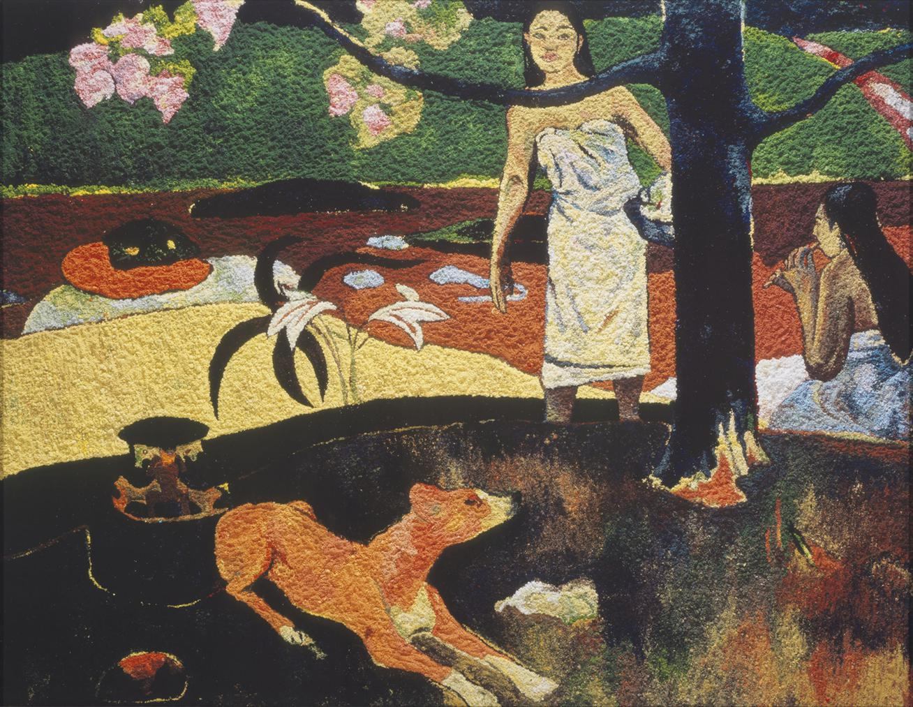 Vik Muniz-Pastorales Tahitiennes, After Paul Gauguin, From Pictures Of Pigment-2005