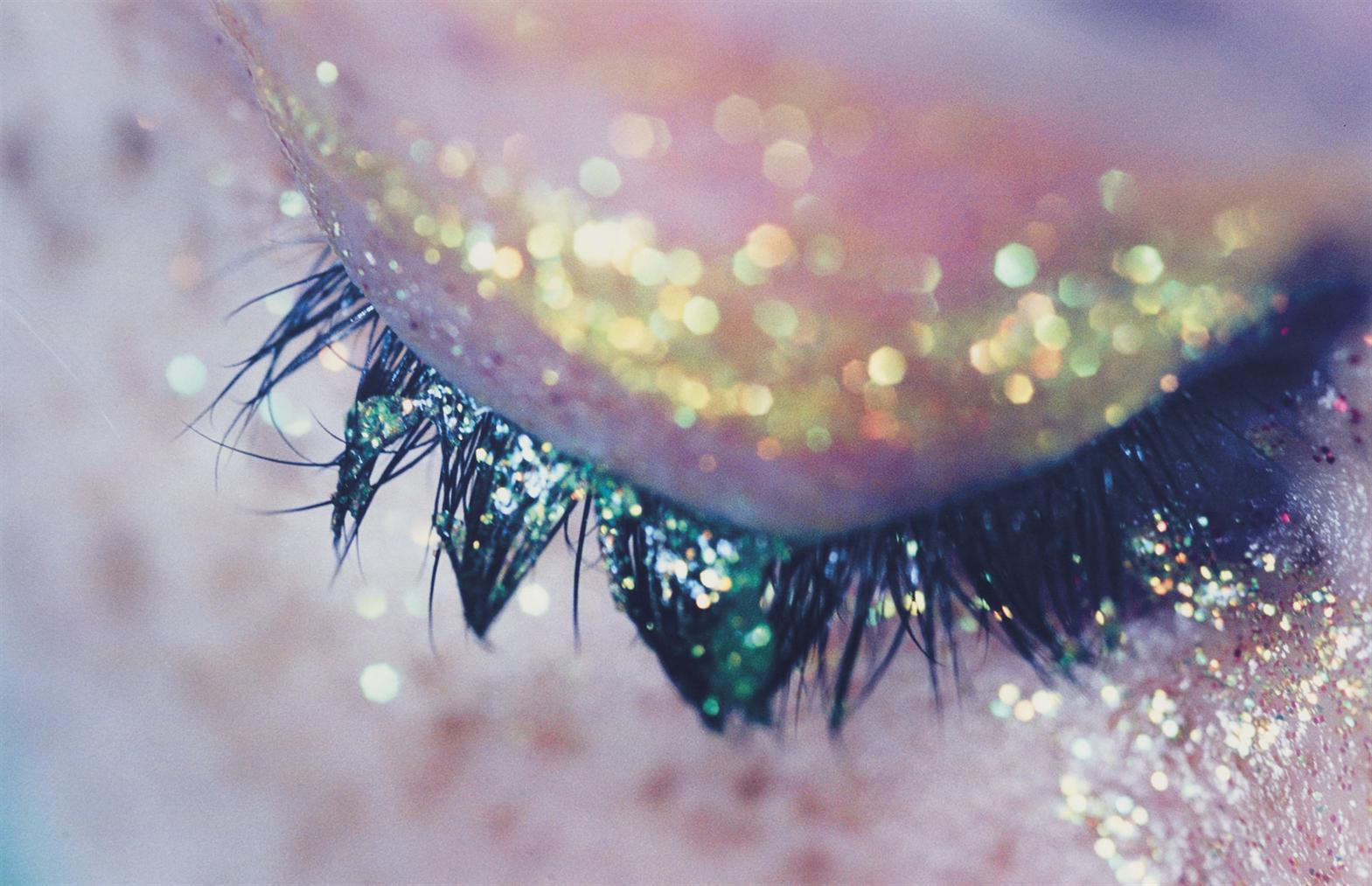 Marilyn Minter-Yellow Sparkle-2007