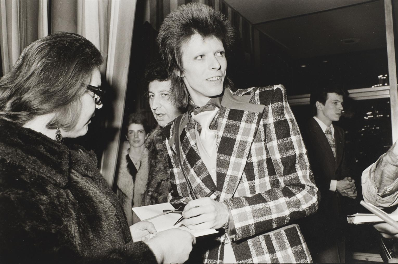 Michael Jang - David Bowie, Beverly Hilton Hotel-1973