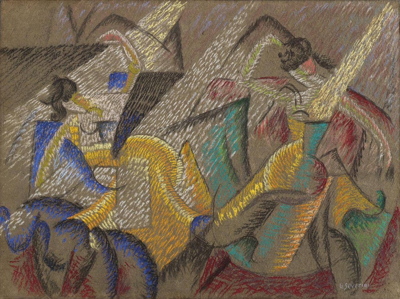 Gino Severini-Danseuses-1913