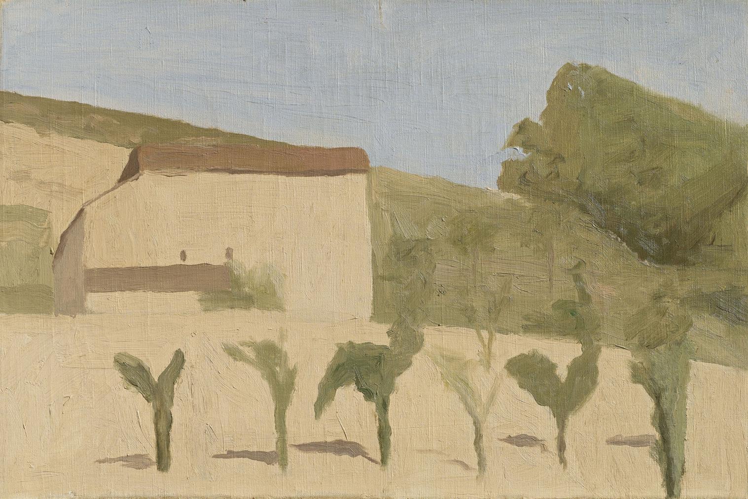 Giorgio Morandi-Paesaggio-1943