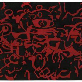 Carla Accardi-Assedio Rosso N.3-1956