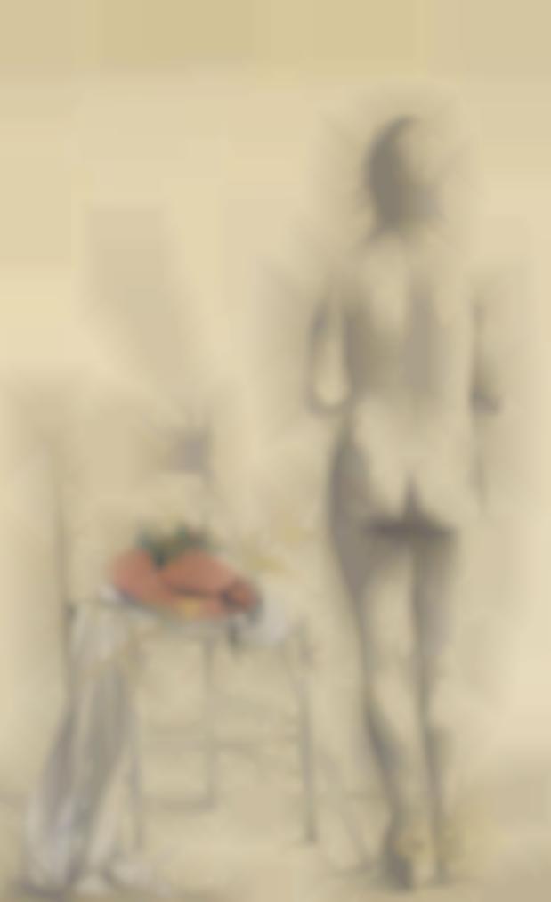Giacomo Manzu-Ragazza Con Natura Morta E Cappello-1947