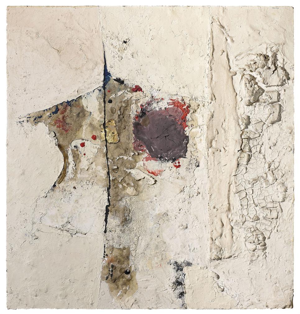 Alberto Burri-Bianco-1954