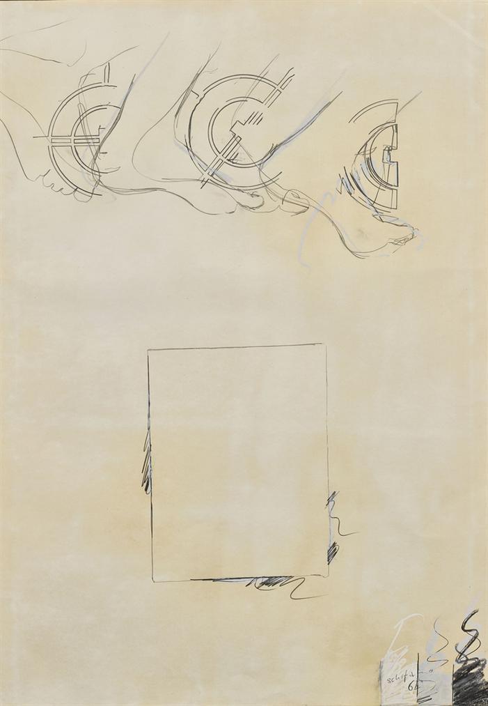 Mario Schifano-Senza Titolo-1964