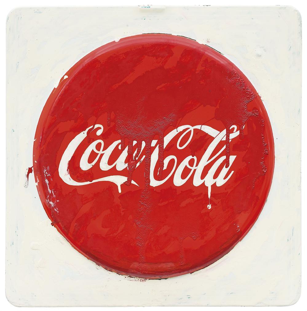 Mario Schifano-Coca Cola-1977