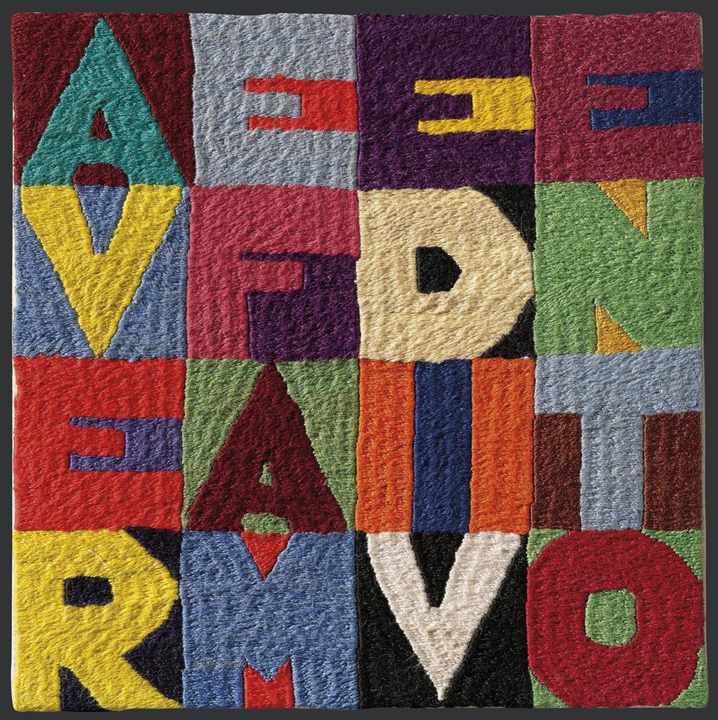 Alighiero Boetti-Avere Fame Di Vento-1987