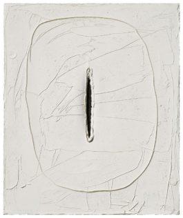 Lucio Fontana-[Concetto Spaziale]-1960