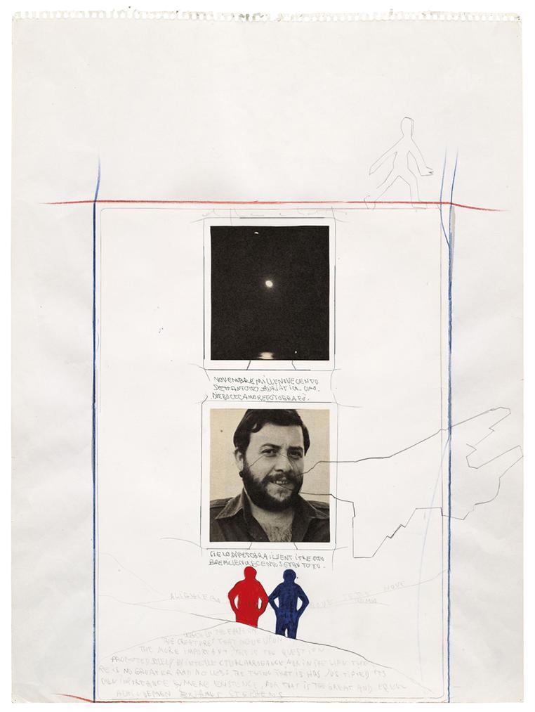 Alighiero Boetti-Senza Titolo (Cielo Di Pescara)-1979