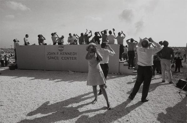 Garry Winogrand-Apollo 11 Moon Shot, Cape Kennedy, Florida-1969