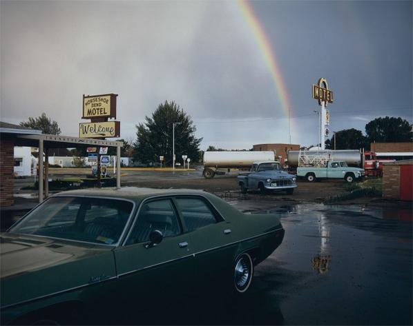 Stephen Shore-Horseshoe Bend Motel, Lovell, Wyoming, 1973-1973