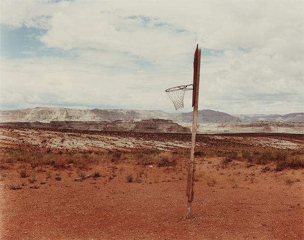 Joel Sternfeld-Near Lake Powell, Arizona, August-1979