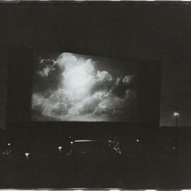 Diane Arbus-Clouds On Screen At A Drive-In Movie, N.J.-1960