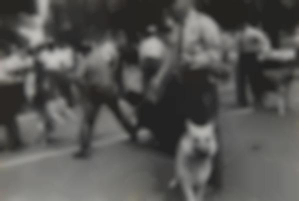Charles Moore - Dogs Used By Birmingham, Ala. Cops To Quell Negro Race Riots-1963