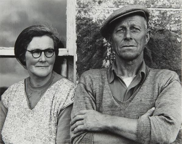 Paul Strand-Couple, South Uist-1954