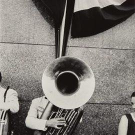 Robert Frank-Political Rally, Chicago-1956