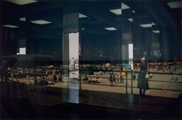 Ernst Haas-Beach Reflection, Usa-1962