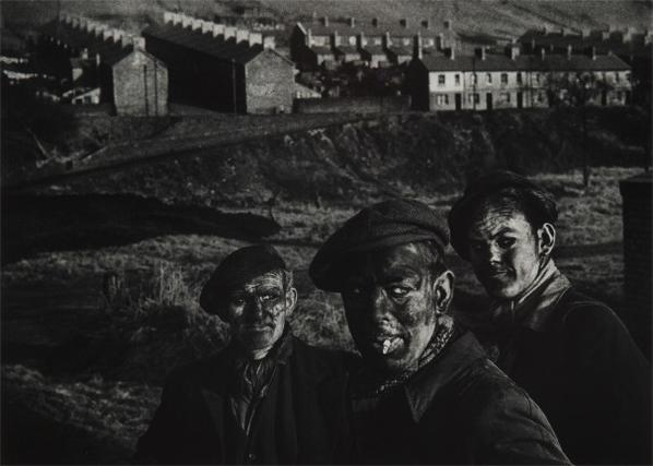 W. Eugene Smith-Three Generations Of Miners. A Welsh Coal-Mining Town, Wales, Great Britain-1950