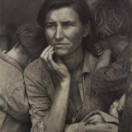 Dorothea Lange-Migrant Mother, Nipomo, California-1936