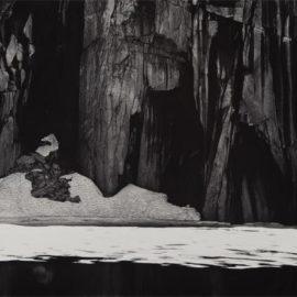 Ansel Adams-Frozen Lake And Cliffs, Sierra Nevada, California-1927