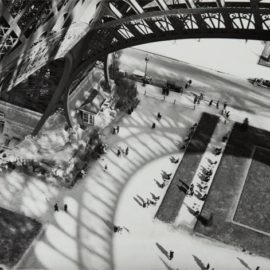 Andre Kertesz-Shadows Of The Eiffel Tower-1929