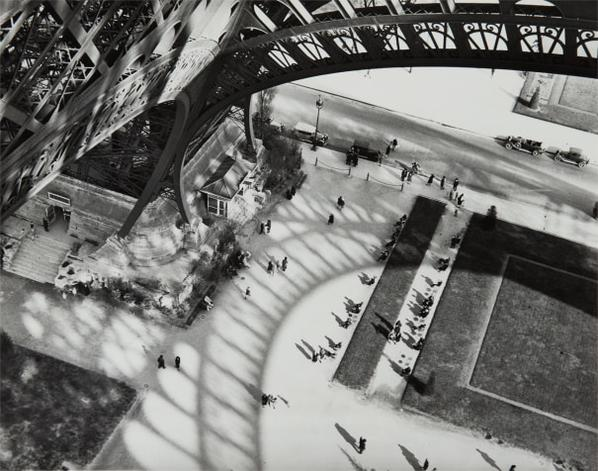 Andre Kertesz-Shadows Of The Eiffel Tower-1929