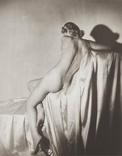 Horst P. Horst-Lisa On Silk I, N.Y.-1940