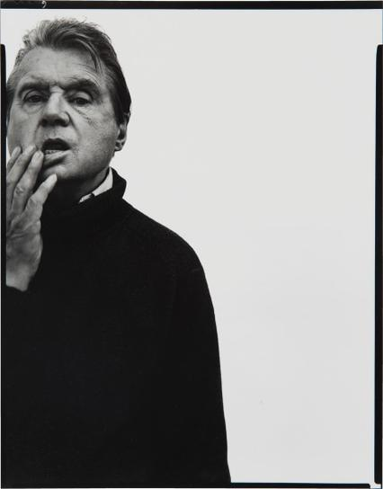 Richard Avedon-Francis Bacon, Artist, Paris, April 11, 1979-1979