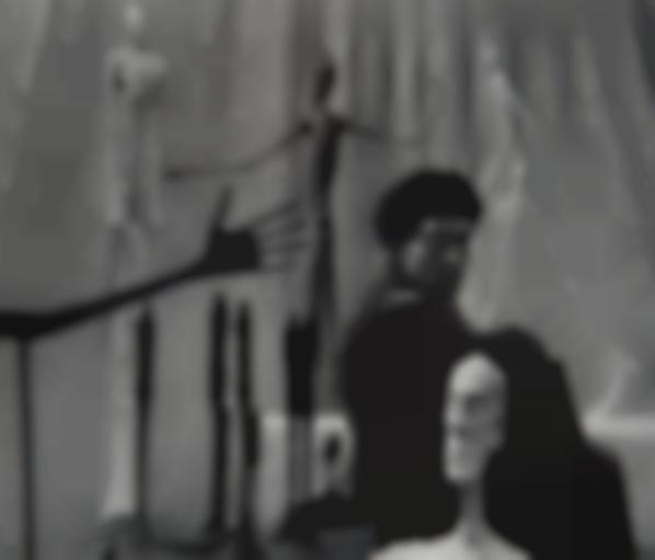 Gordon Parks - Alberto Giacometti, Paris, France-1951