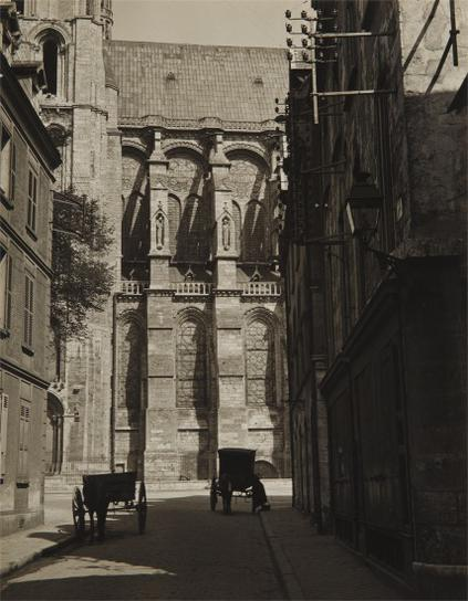 Charles Sheeler-Chartres, South Side From Street-1929