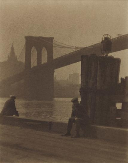 Paul Outerbridge-Brooklyn Bridge-1923