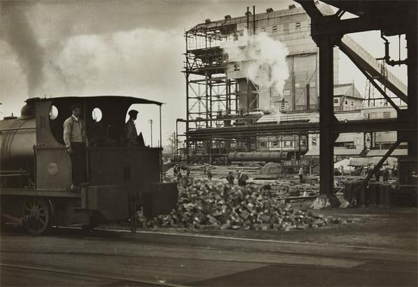 Emil Otto Hoppe-Germany Brunner Mond Chemical Workers, October-1928