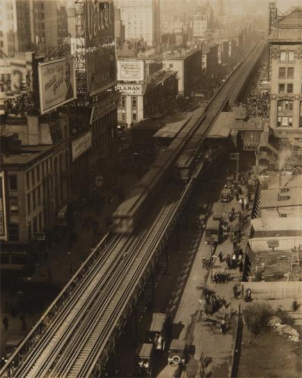 Edward Steichen-6Th Ave. And 40Th St.-1930