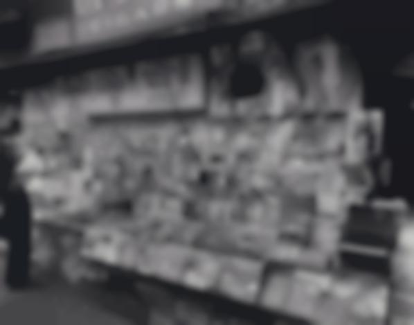 Berenice Abbott-Newsstand, 32Nd Street And 3Rd Avenue-1935