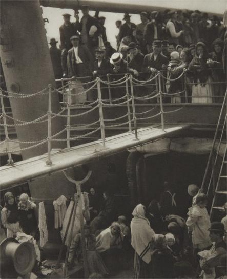 Alfred Stieglitz-The Steerage-1907