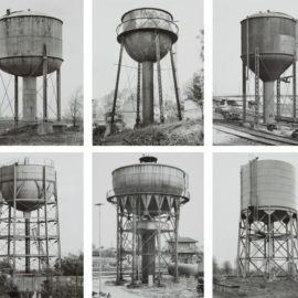 Bernd and Hilla Becher-Water Towers-1984