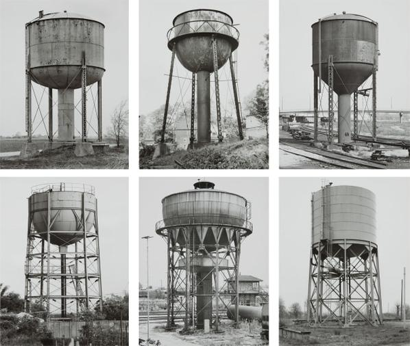 Bernd and Hilla Becher-Water Towers-1984