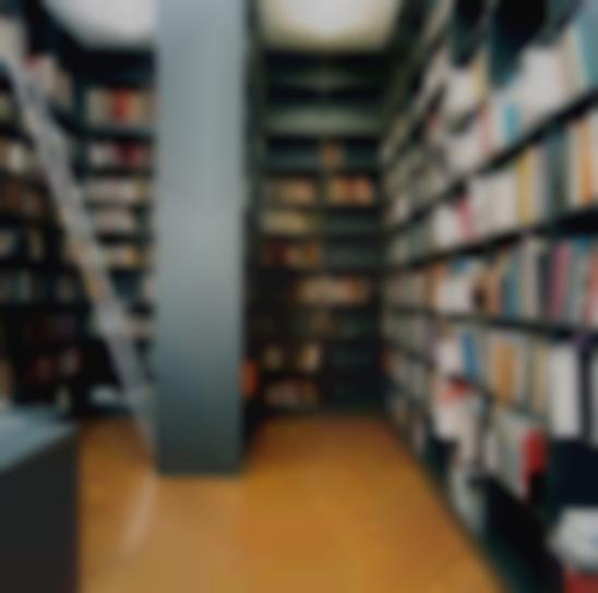 Candida Hofer-Bibliothek Der Kunsthalle Basel I-1999