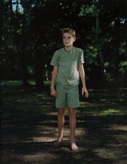 Rineke Dijkstra-Tiergarten Berlin, August 13-2000